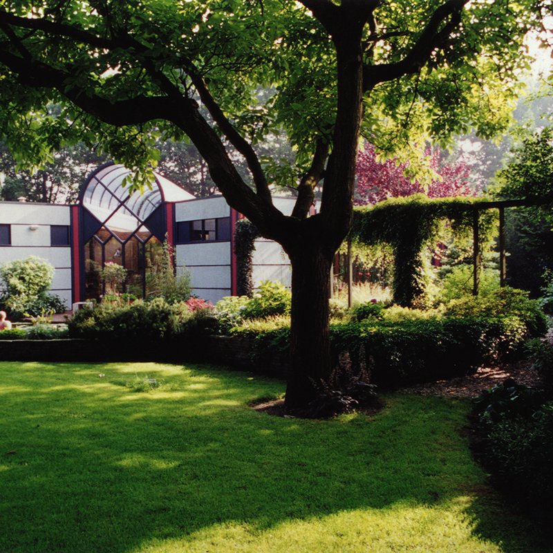 groene huis uden
