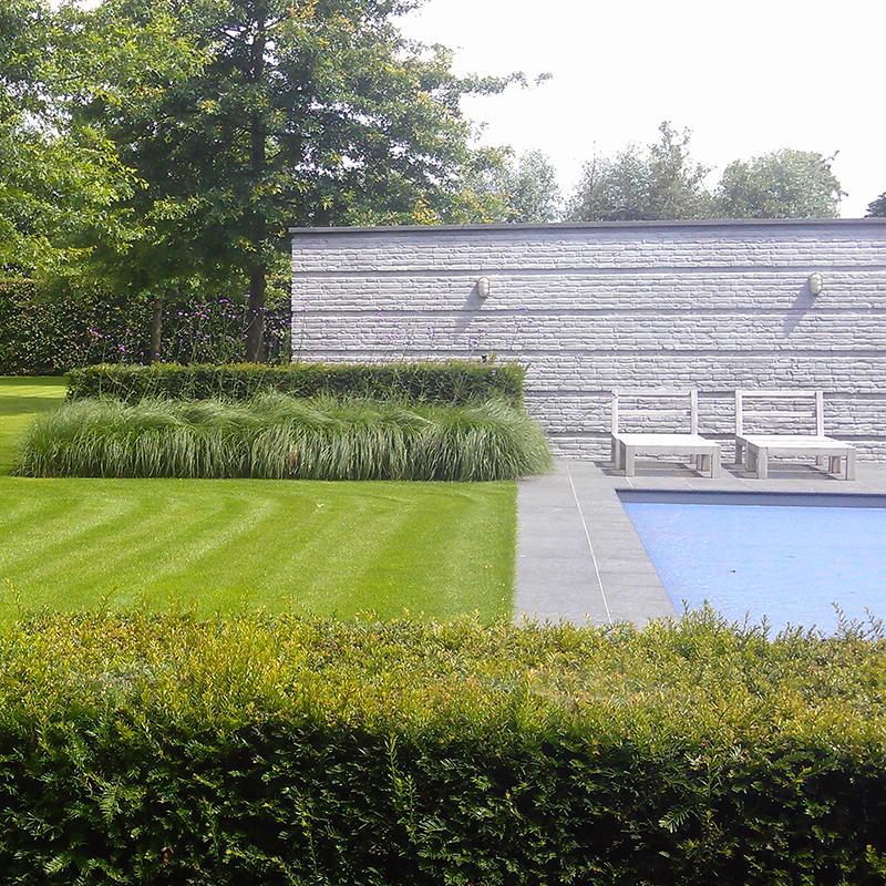Multigroen hoveniers boomverzorging tuinrenovatie for Zwembad uden